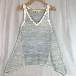 MOTH Anthropologie sweater tank top
